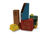 Custom Made Boxes, Designs & Displays