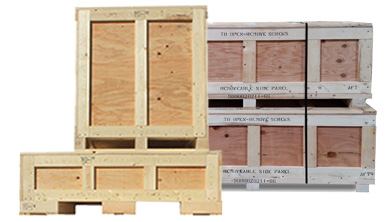 Military Spec Wooden Crates & Pallets