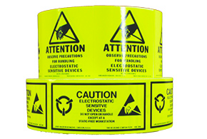 Warning labels, envelopes & indicators